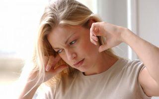 Шум и звон в ушах при вегетососудистой дистонии
