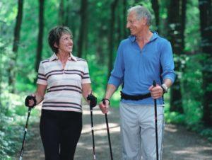 Скандинавская ходьба в пожилом возрасте