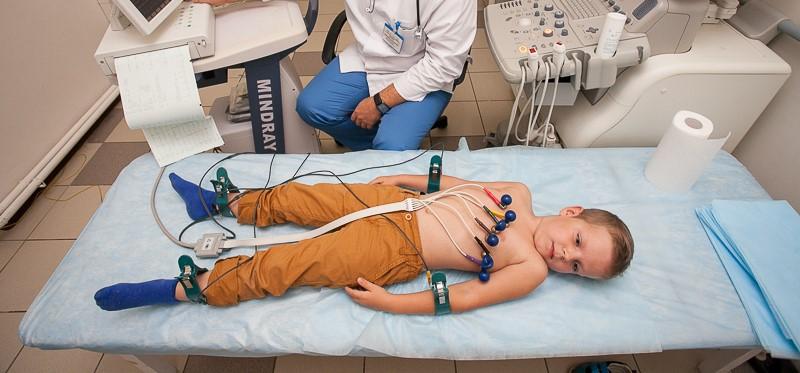 ЭКГ у ребенка при синусовой аритмии