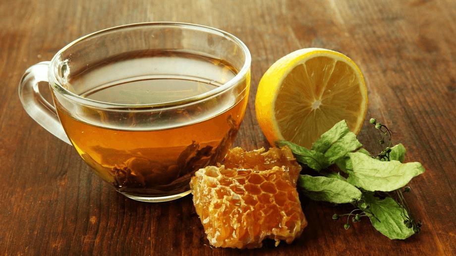 Отвар шиповника с лимоном и медом