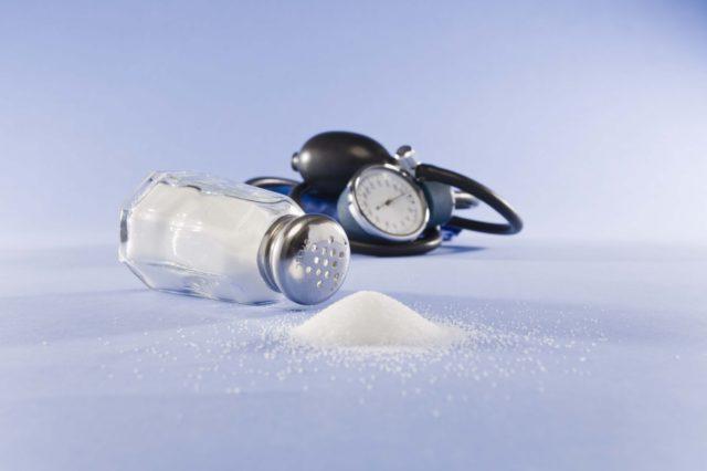 Уменьшить потребление соли