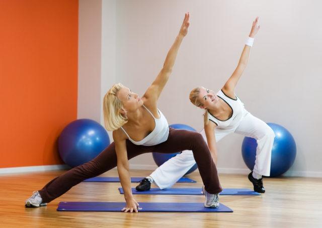 Гимнастика в спортзале для профилактики варикоза