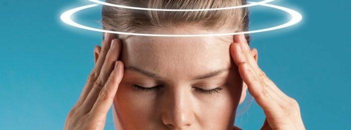 Причины и лечение головокружения при ВСД